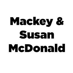 Logo for Mackey and Susan McDonald.