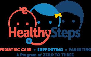 Zero to Three Healthy Steps logo.