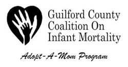 Guilford County Coalition on Infant Mortality logo.