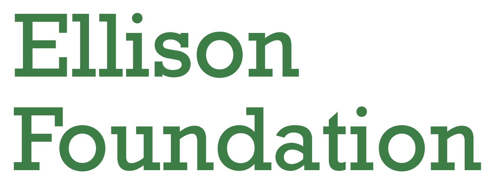 Ellison Foundation logo.