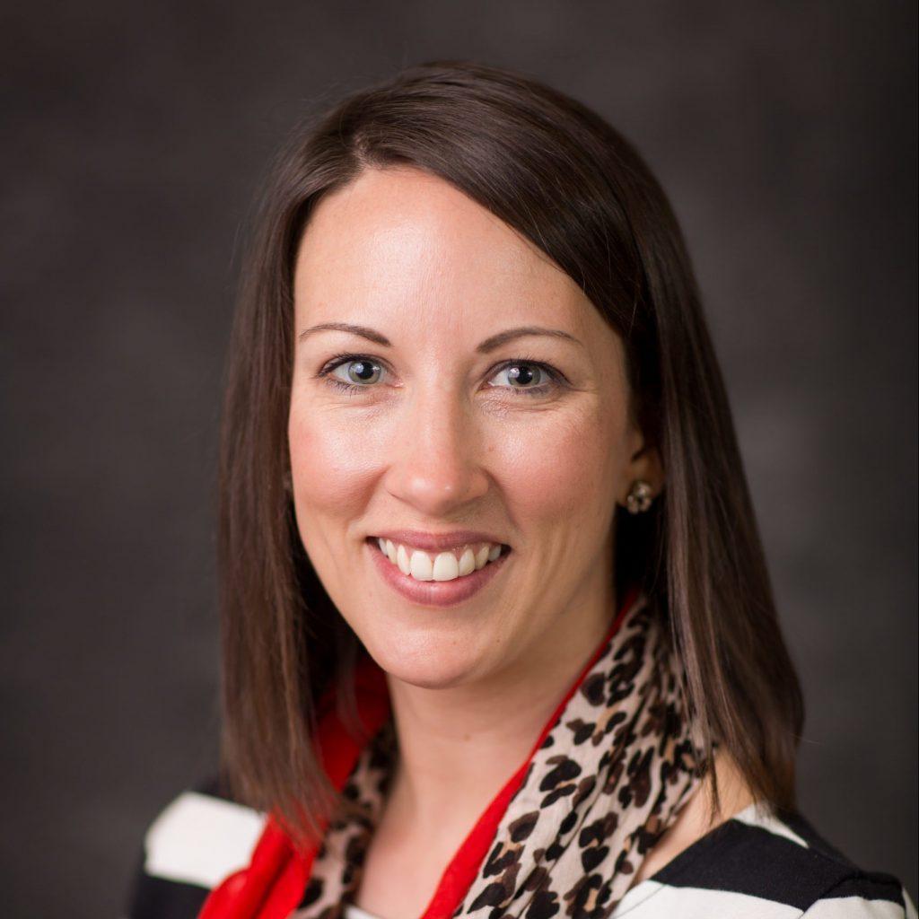 Headshot of Ready Ready family literacy coordinator Megan LeFaivre. Click to see her bio.