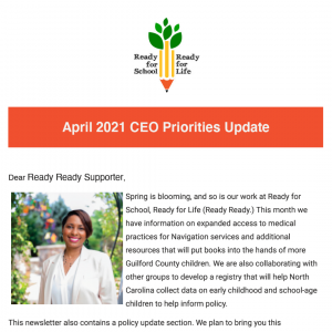 Click to open the April 2021 CEO Priorities update email