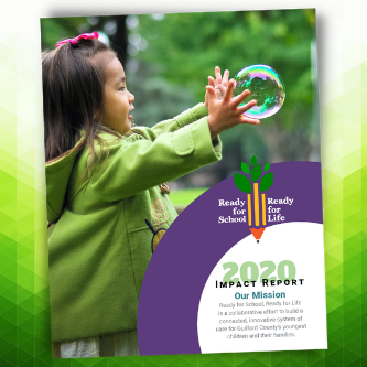 Cover of 2020 impact report