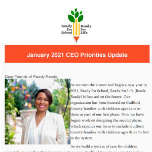 Click to open the January 2021 CEO Priorities update email