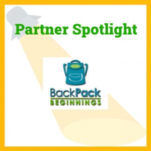 logo for backpack beginnings