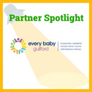 Every Baby Guilford logo under the words Partner Spotlight